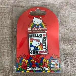 Hello Kitty Con pin